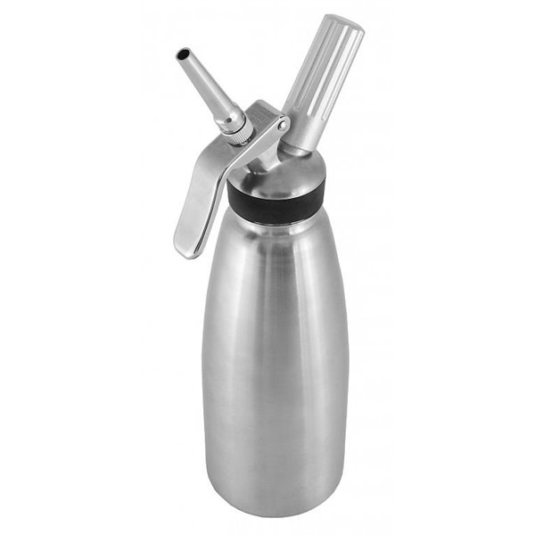 Syfon do bitej śmietany - stal nierdzewna 1,0l | Soda Pluss 180040004
