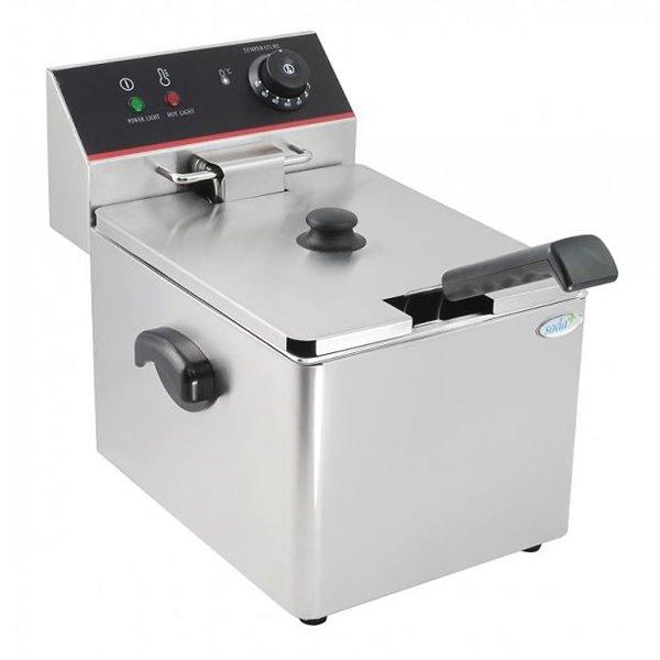 Frytownica elektryczna pojedyncza - 8 litrów   Soda Pluss 110120010