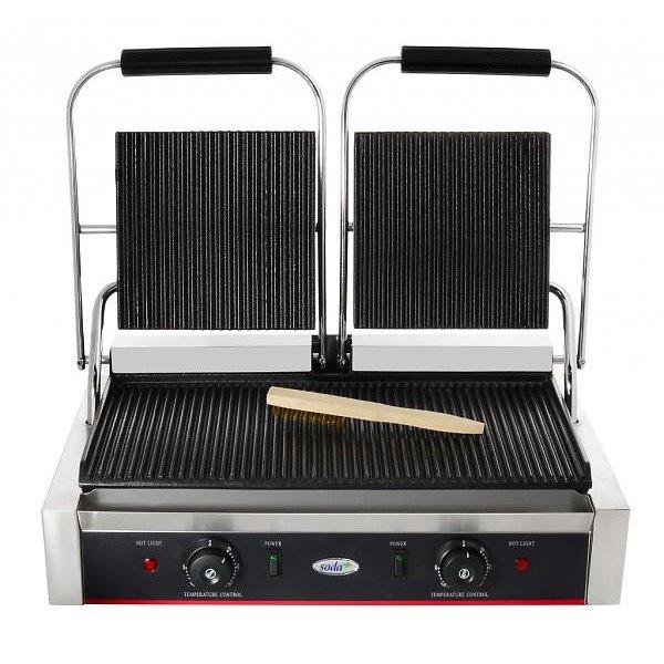 Kontakt grill podwójny | Soda Pluss 110100004