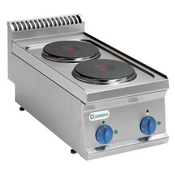 Kuchnia 2-płytowa nastawna moc: 5,2kW (400V) | Soda Pluss 460080002