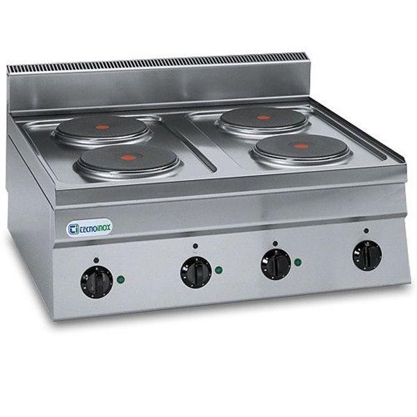 Kuchnia 4-płytowa nastawna moc: 10,4kW (400V) | Soda Pluss 460080005