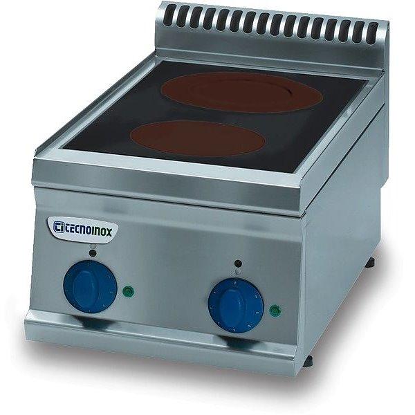 Kuchnia 2-strefowa nastawna moc: 4,3kW (400V) | Soda Pluss 460080009