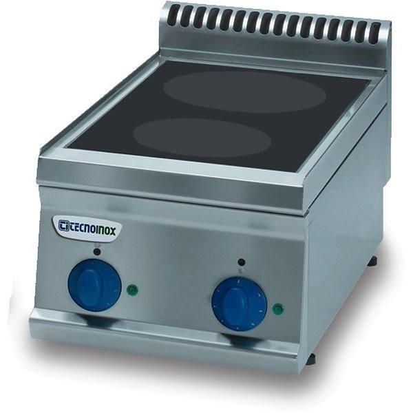 Kuchnia 2-polowa indukcyjna nastawna moc: 7,0kW | Soda Pluss 460080013