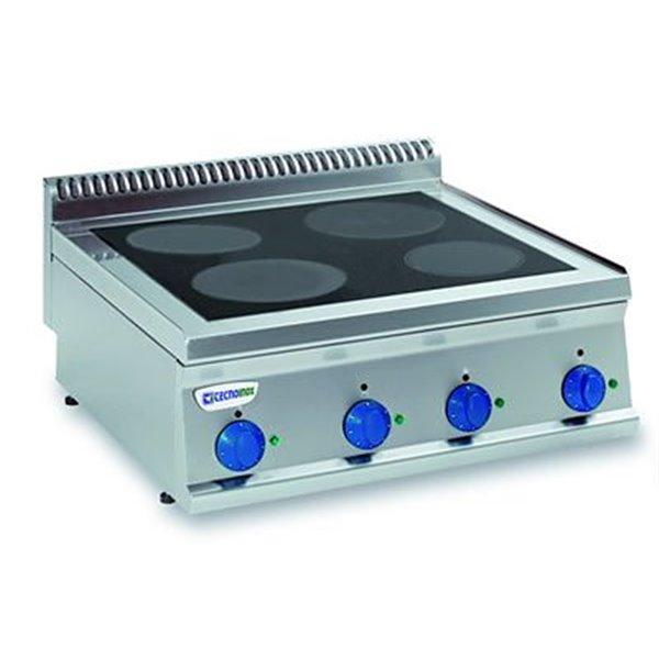 Kuchnia 4-polowa indukcyjna nastawna moc: 14,0kW | Soda Pluss 460080014