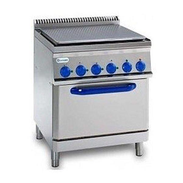 Płyta bezpośredniego smażenia z piekarnikiem GN2/1 moc: 12,7kW | Soda Pluss 460080016