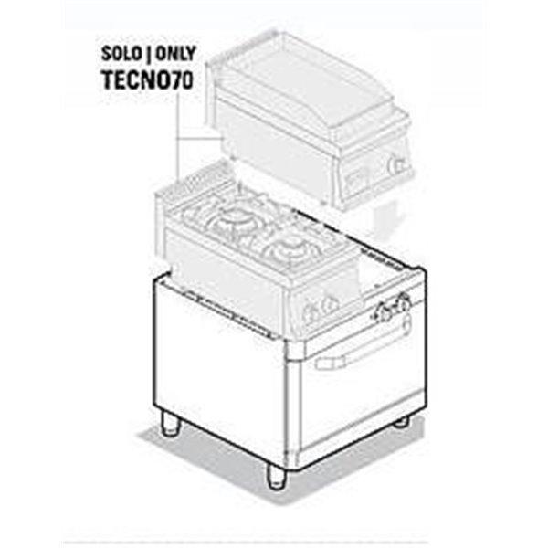 Podstawa pod urzadzenia z piekarnikiem gazowym moc: 5kW | Soda Pluss 460080039