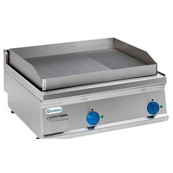 Płyta grillowa gładka/ryflowana nastawna moc: 7,8kW | Soda Pluss 460080049