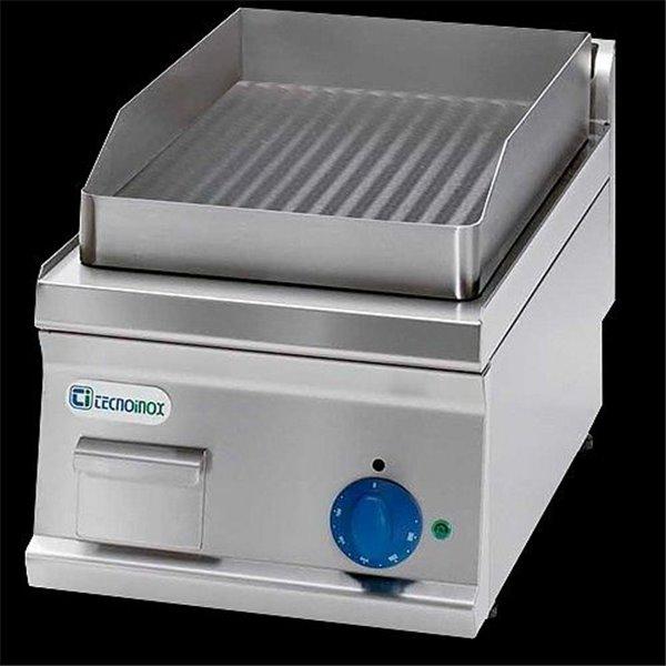 Płyta grillowa gazowa ryflowana nastawna moc: 4 kW | Soda Pluss 460080053