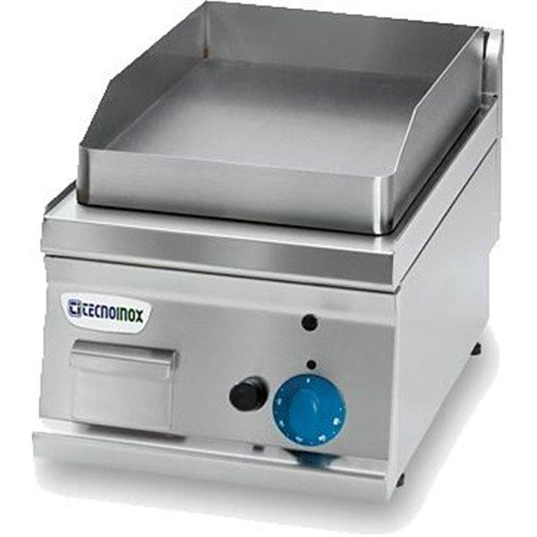 Płyta grillowa gazowa chromowana nastawna moc: 4 kW | Soda Pluss 460080058