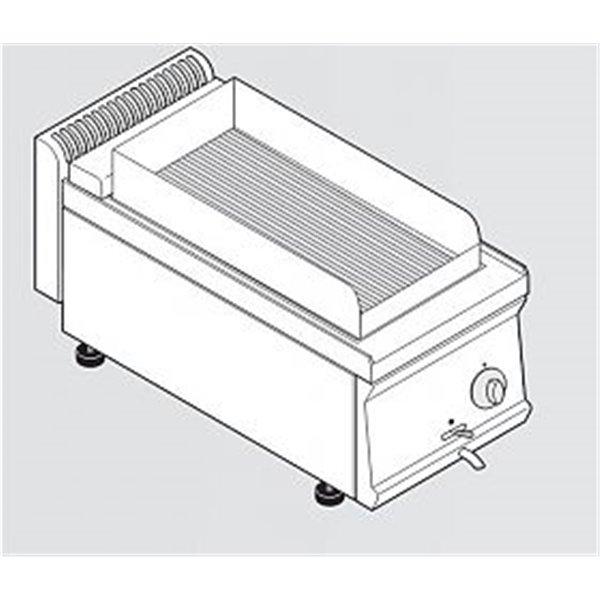 Grill elektryczny wodny z osłonami nastawny moc: 4,05kW | Soda Pluss 460080061