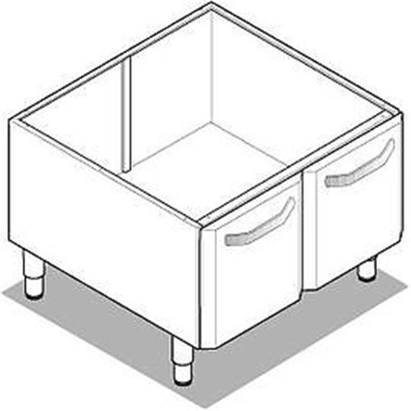 Podstawa szafkowa z drzwiami 700x575x600 | Soda Pluss 460080093