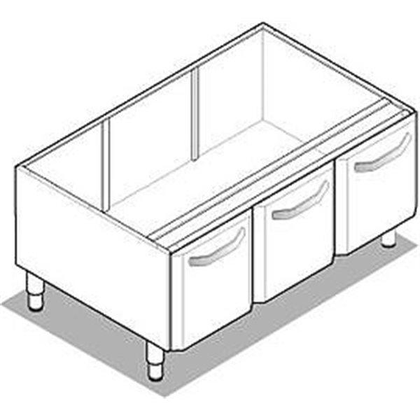 Podstawa szafkowa z drzwiami 1050x575x600 | Soda Pluss 230090001
