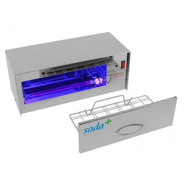 Naświetlacz bakteriobójczy 10 poz. | Soda Pluss 160010002