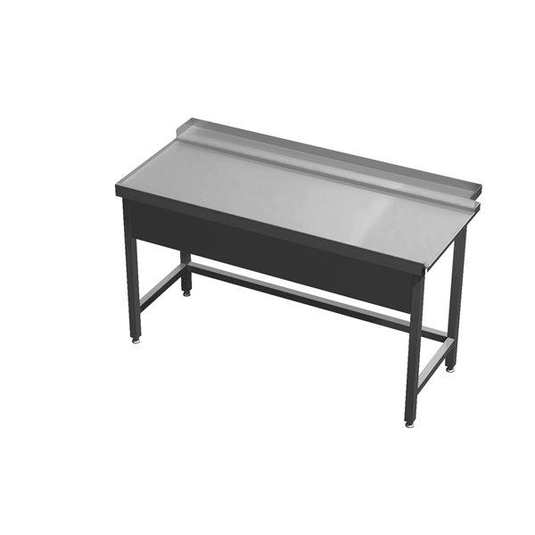 Stół wyładowczy bez półki  eko 05 63 1300X700X850 | Plastmet