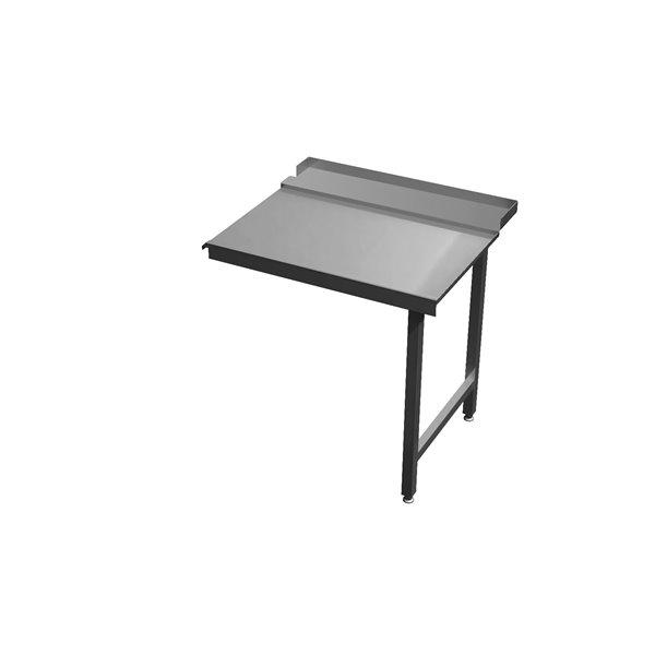 Stół wyładowczy na dwóch nogach Eko 05 65 1000X700X850 | Plastmet