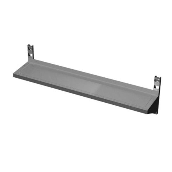 Półka wisząca, regulowana Eko 06 47 1500X400(+20)X280 | Plastmet