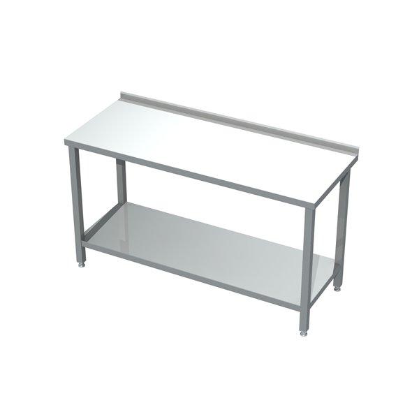 Stół roboczy z półką eko 04 02 2200X600X850   Plastmet