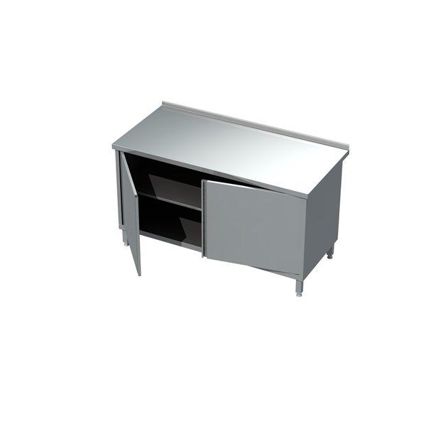 Stół z szafką drzwi otwierane eko 04 10 400X700X850   Plastmet