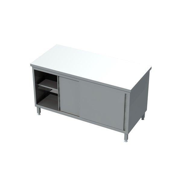 Stół-szafka przelotowa drzwi suwane 04 27 eko 04 13 1000X700X850   Plastmet
