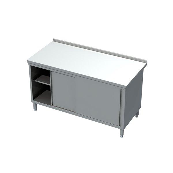 Stół-szafka drzwi suwane eko 04 12 1400X600X850   Plastmet