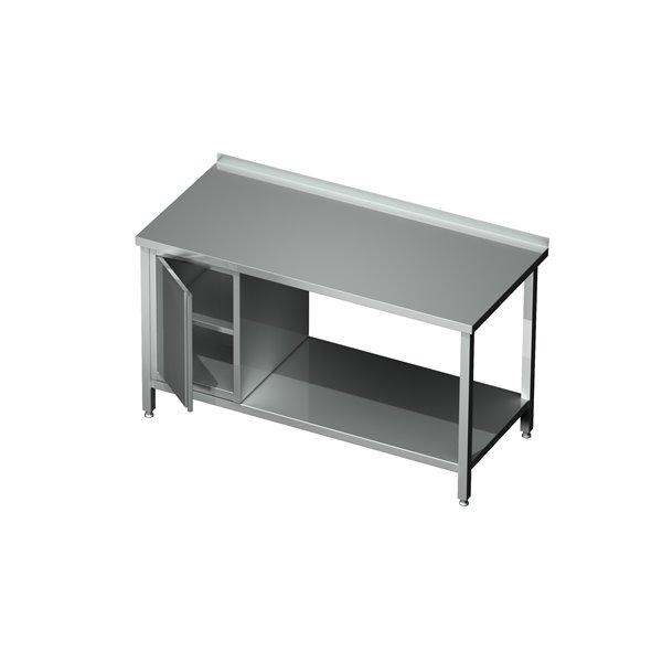 Stół z półką i szafką eko 04 41 1400X700X850   Plastmet