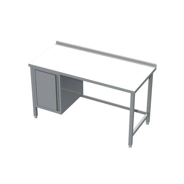 Stół z szafką eko 04 40 1800X600X850   Plastmet