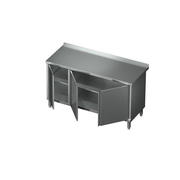 Stół-szafka drzwi otwierane z szafką eko 04 43 1400X600X850   Plastmet