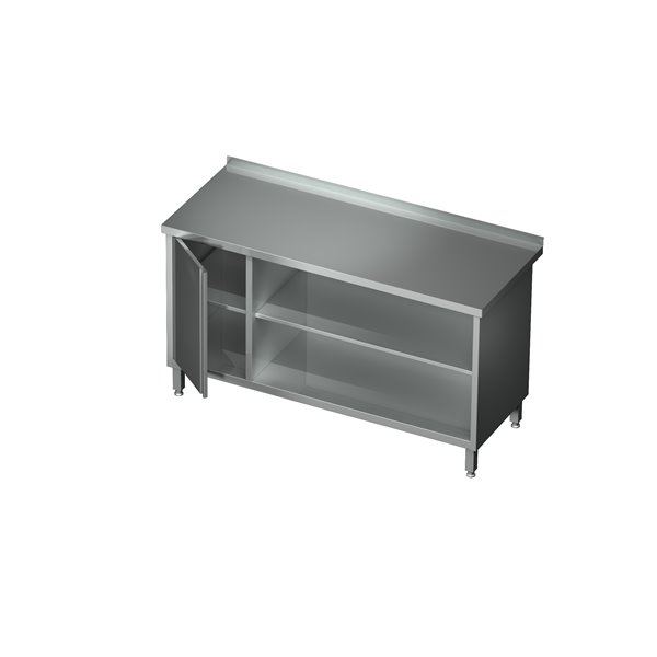 Stół-szafka otwarta z półką i szafką eko 04 42 1800X600X850   Plastmet