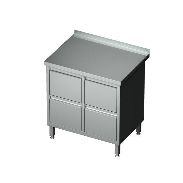 Szafka-blok 4 szuflad eko 04 59 800X600X850   Plastmet
