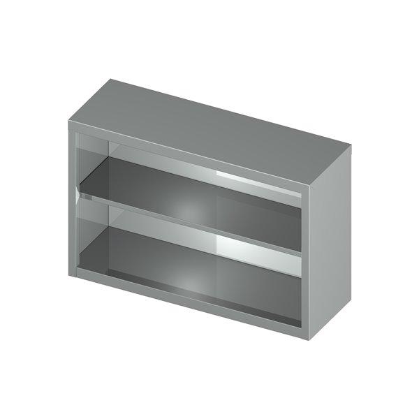 Szafka wisząca otwarta eko 06 30 1100X400X600 | Plastmet
