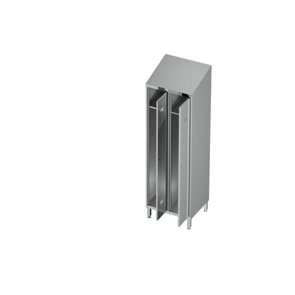 Szafa ubraniowa 2-drzwiowa eko 06 18 1000X600X2000 | Plastmet
