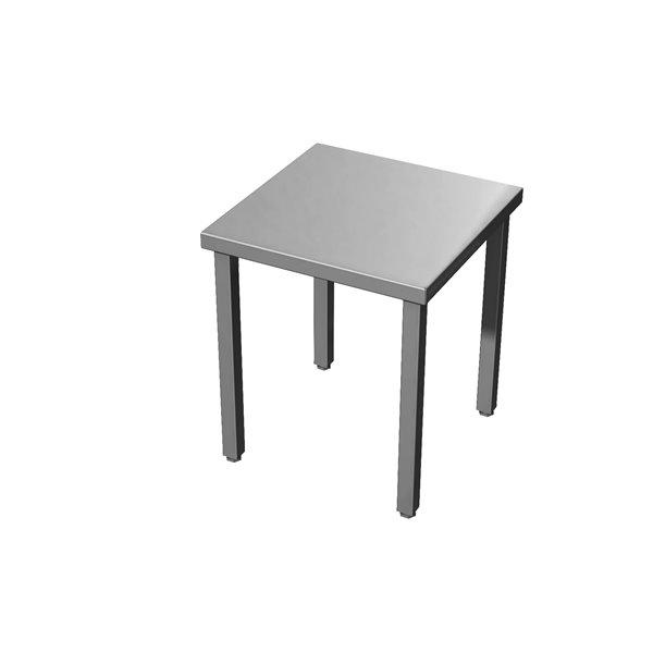 Taboret nierdzewny eko 04 08 500X500X450 | Plastmet