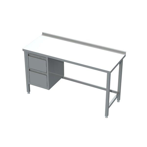 Stół z blokiem 2 szuflad eko 04 20 1400X600X850   Plastmet