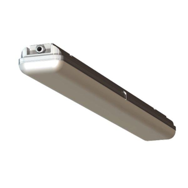 Niezabudowane oświetlenie jarzeniowe w okapach przyściennych | PLASTMET
